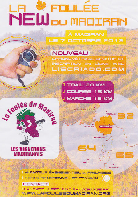 Madiran La Foulée du Madiran 2012