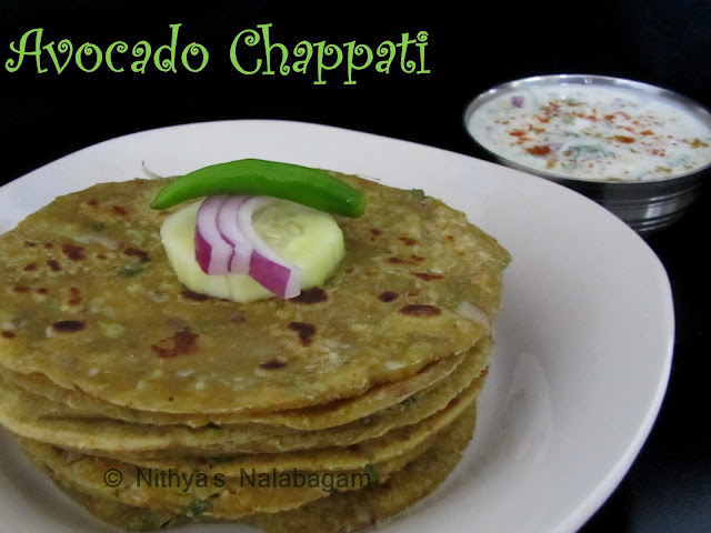 Avocado Chappati