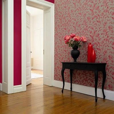 Dreamhouse papeles pintados for Papel pintado entrada