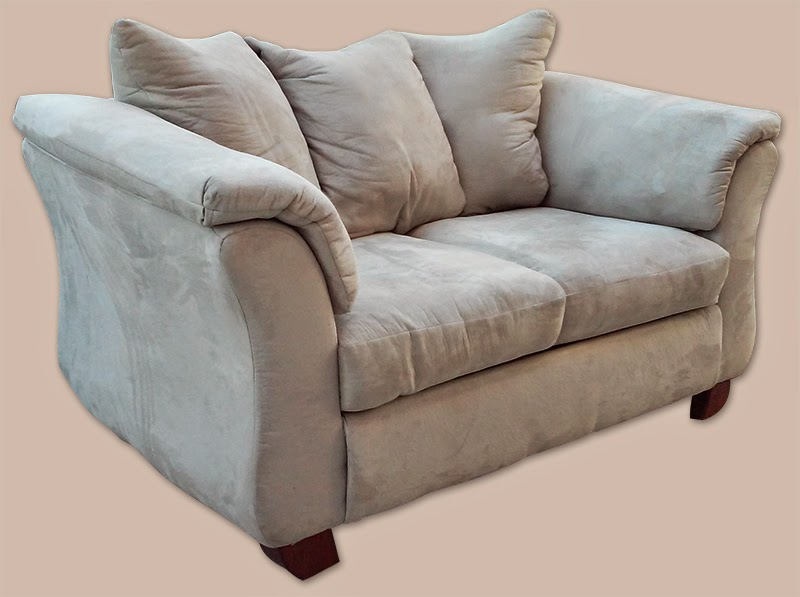 how to clean beige microfiber couch