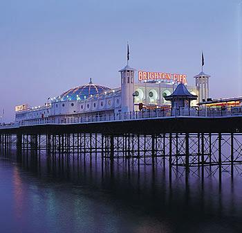 Brighton Pier Muelles-de-Brighton