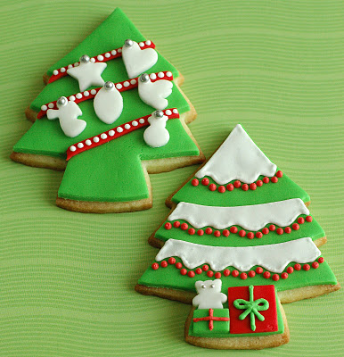 christmas cookie trees i love the taste and smell of christmas cookies ...