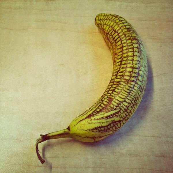 gambar kreatif pisang