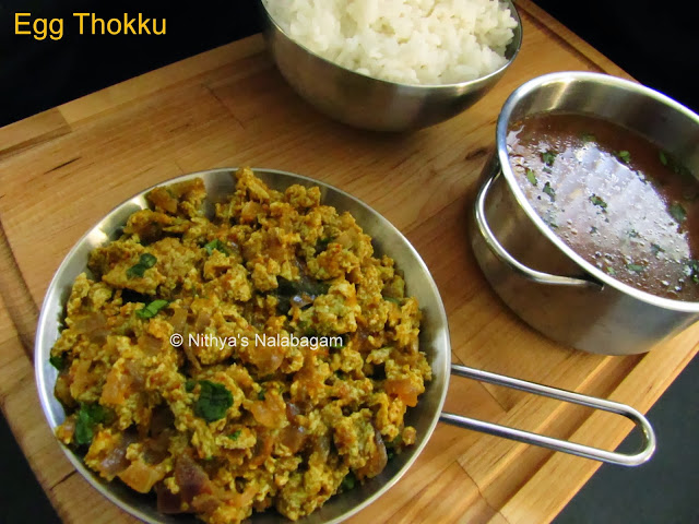 Spicy Egg Thokku From South India