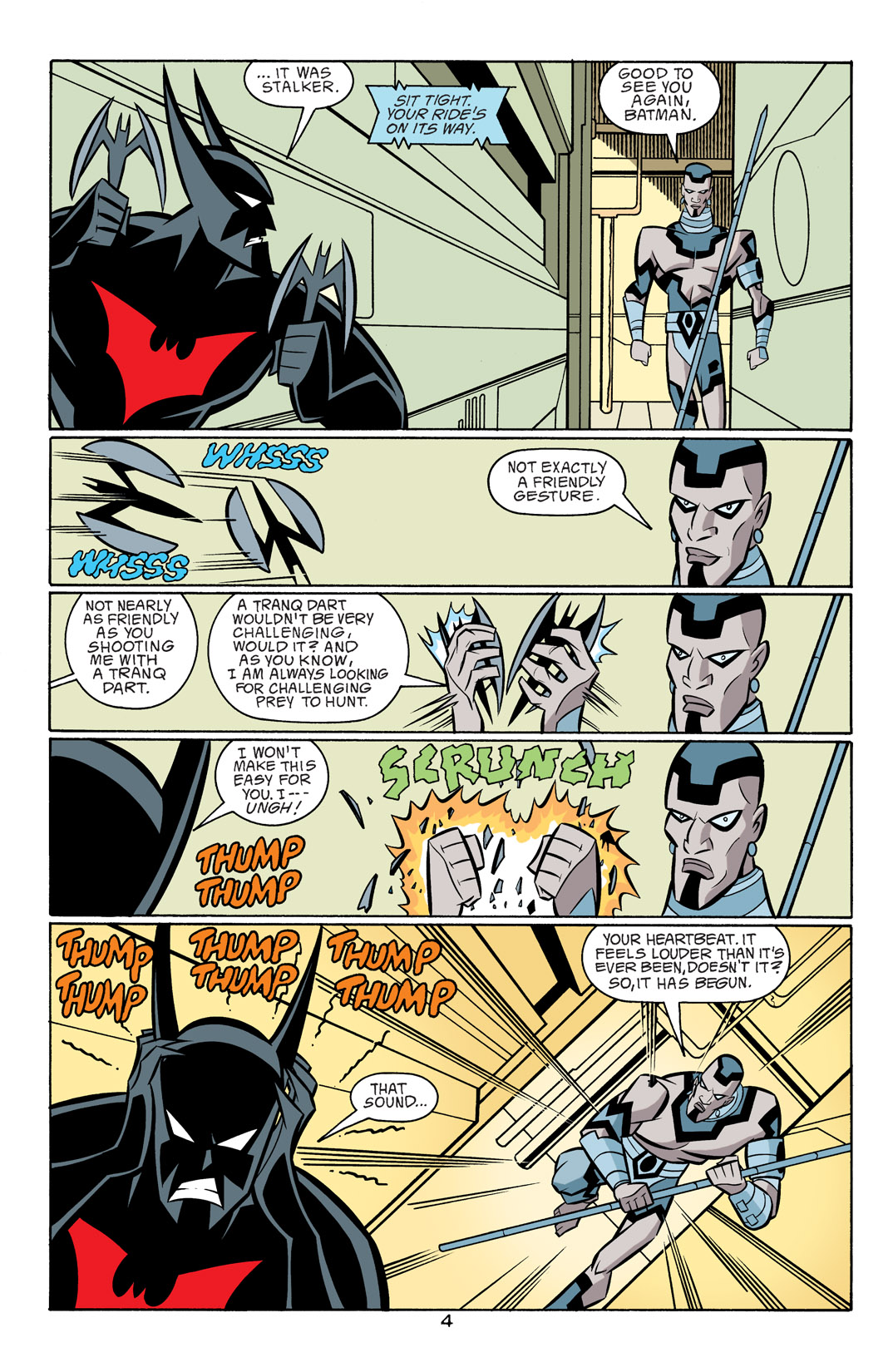 Batman Beyond [II] Issue #18 #18 - English 5