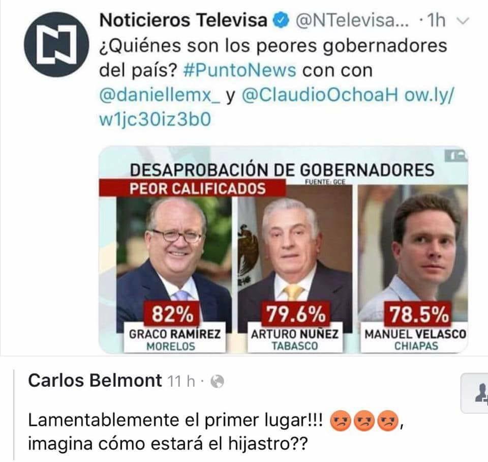 LOS PEORES GOBERNADORES DEL PAIS