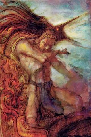 Pintura del artista Chapulitzin