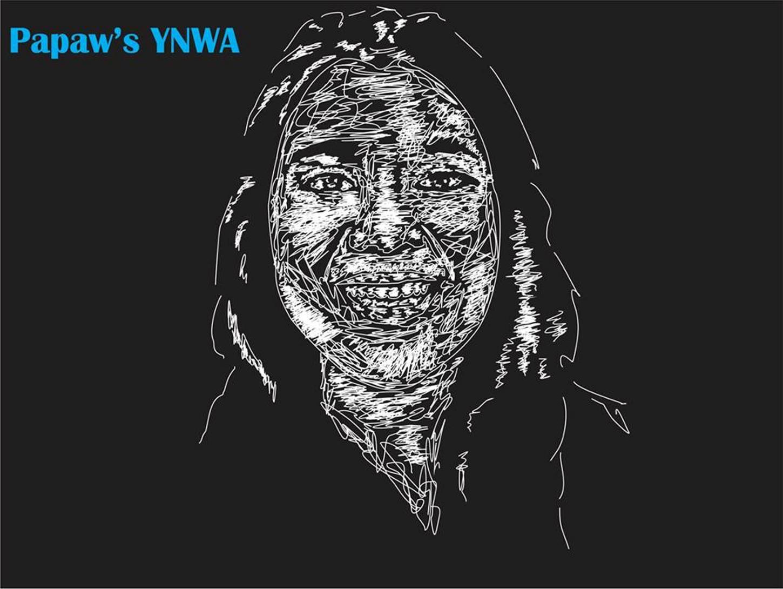 50 contoh desain wajah dengan coretan-coretan abstrak Efek Chalk Scribble dengan coreldraw