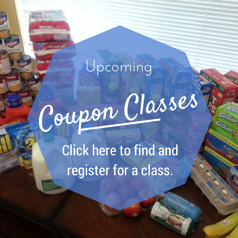 Upcoming Coupon Classes