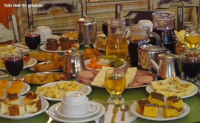 O melhor café colonial em Gramado com o melhor preço