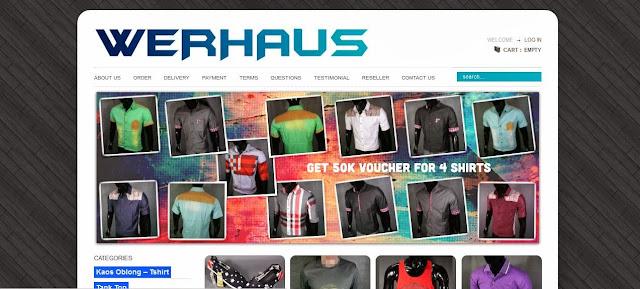 toko online fashion khusus pria