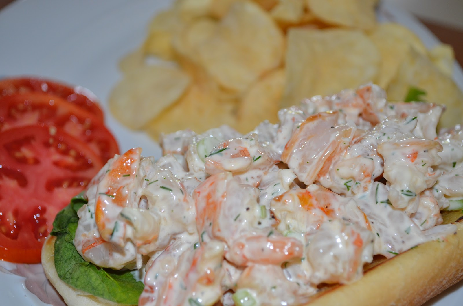 "The ""Q"" Review: Recipe: Grilled Shrimp Roll"