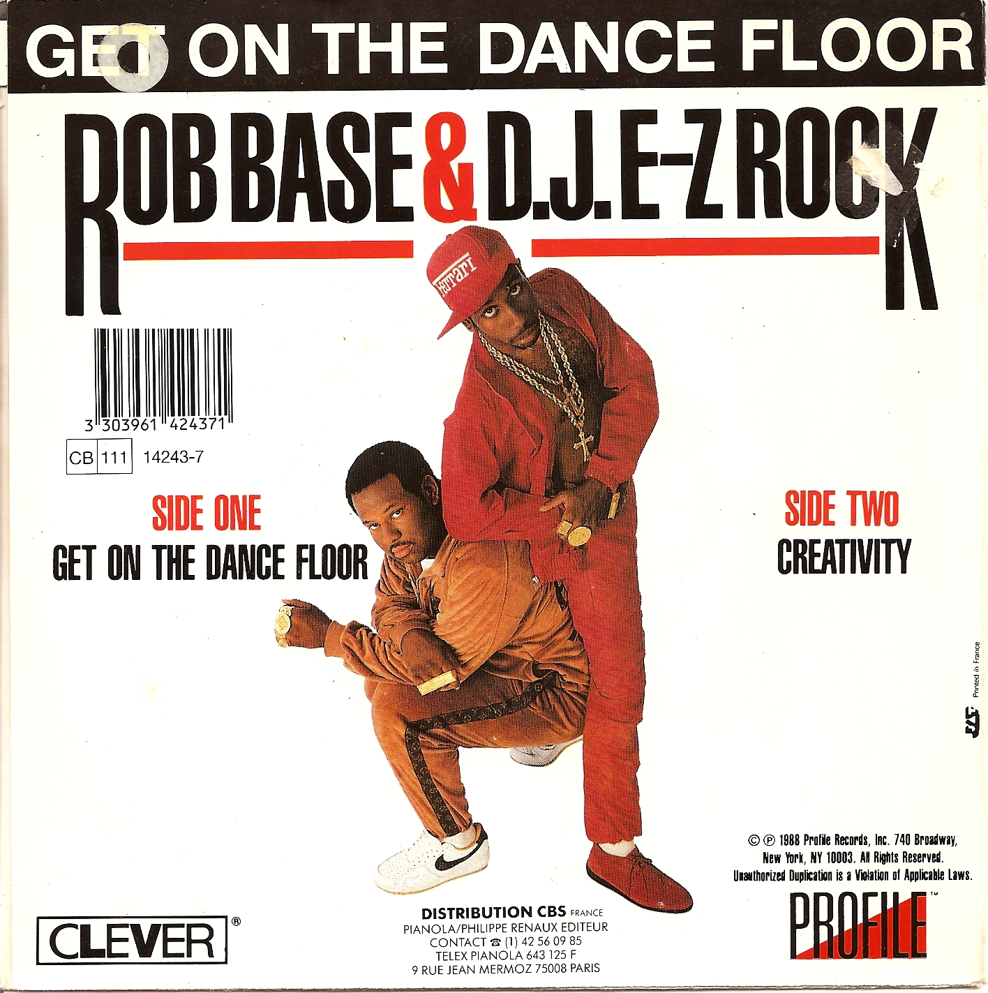 Zorba le break rob base d j e z rock get on the for 1233 get on the dance floor