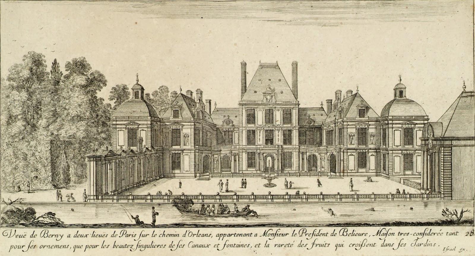 le chteau de berny a t dmolit - Chateau De Valnay Mariage