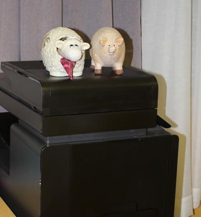 Jorull og grisen på ny kopimaskin