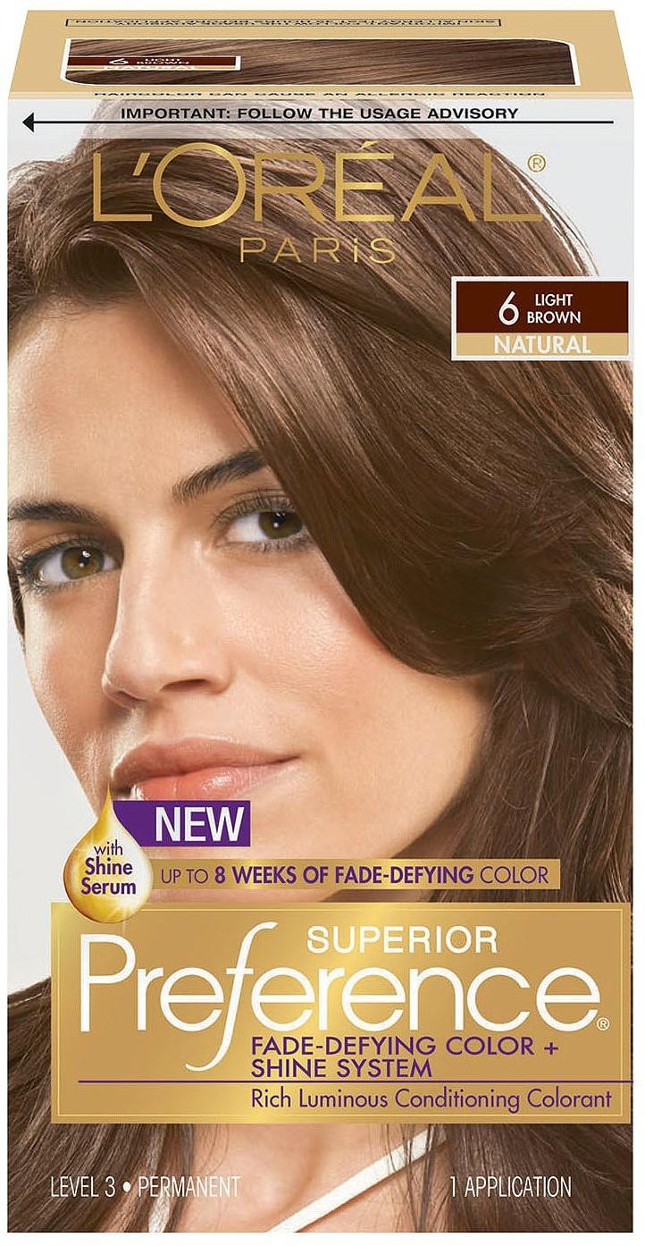 farbydo włosów: L'oreal Preference Superior Rich Luminous 6 Light ...