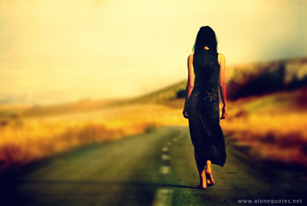 alone girl wallpaper with out quotes