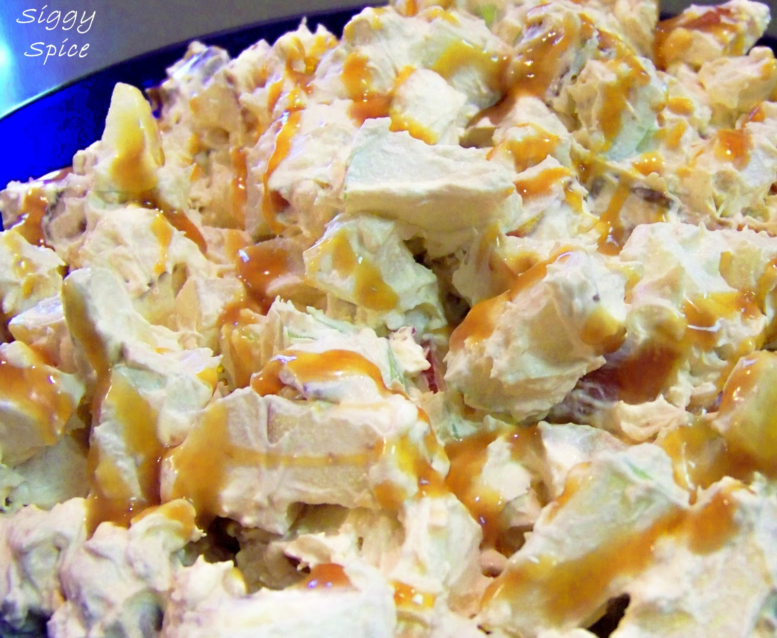 ... Apple Candy Bar Salad - a healthier version of Snickers salad