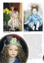 """LE MIE BAMBOLE PUBBLICATE SULLA RIVISTA """"LA BACCHETTA MAGICA"""""""