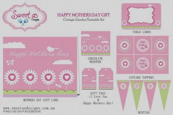 Día de la Madre: Kit Rosa para Imprimir Gratis.