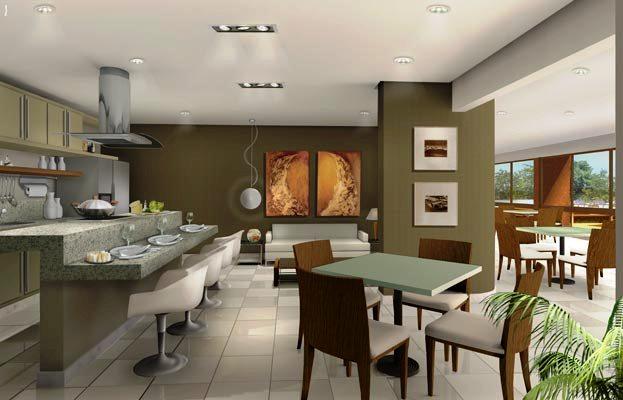 fotos de decoracao de interiores residenciais:House de Taipa: Como decorar um espaço gourmet