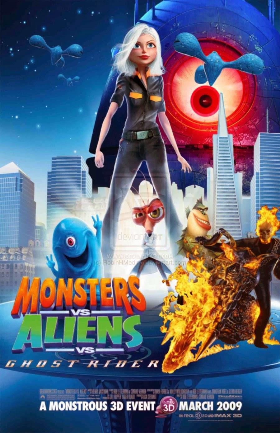 sala de exibi231227o monstros vs alien237genas