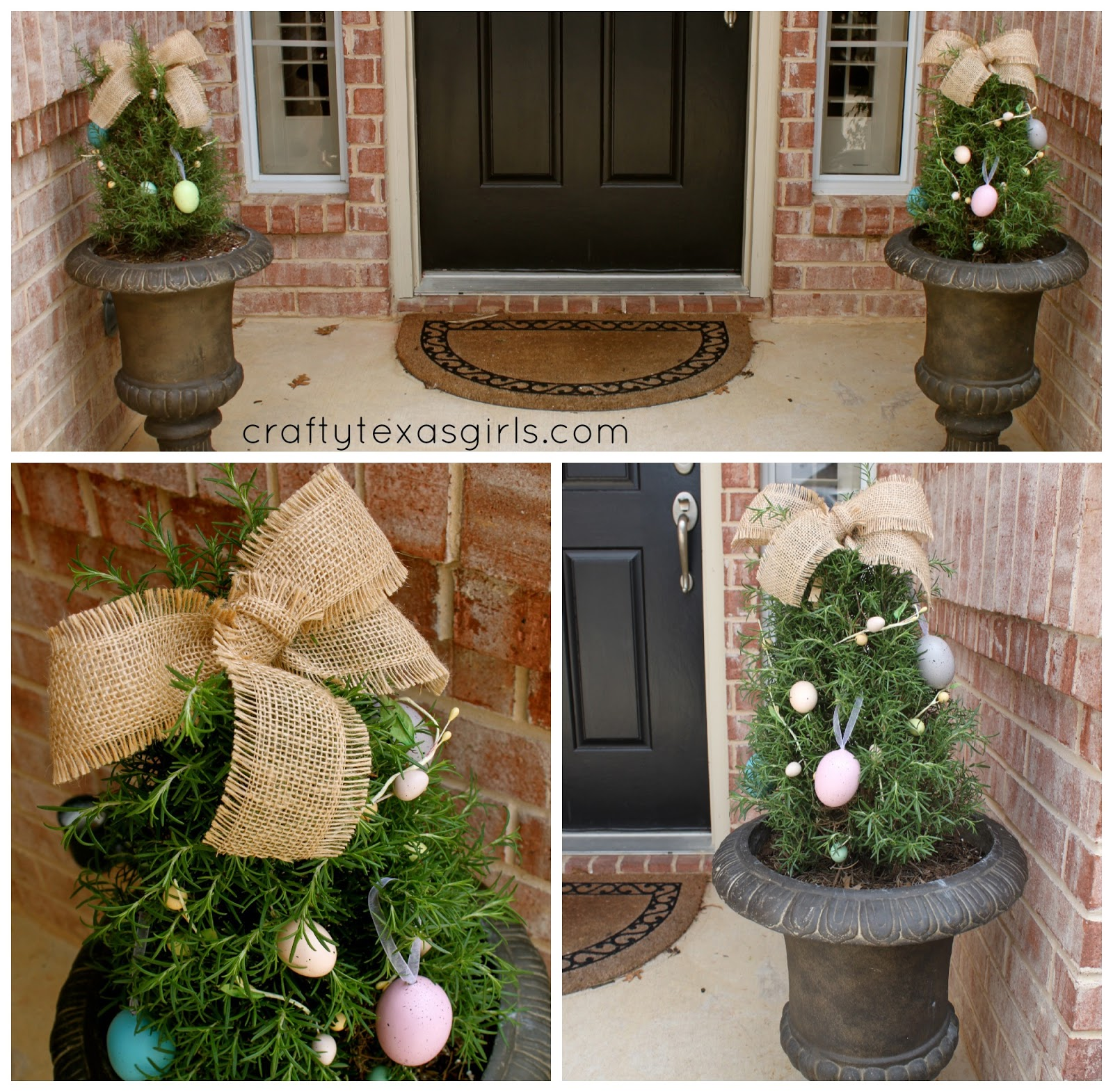 Crafty Texas Girls: Craft It: Easter Decor for the Front Door