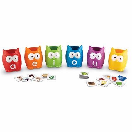 Enter to win some Vowel Owls. Ends 2/24.