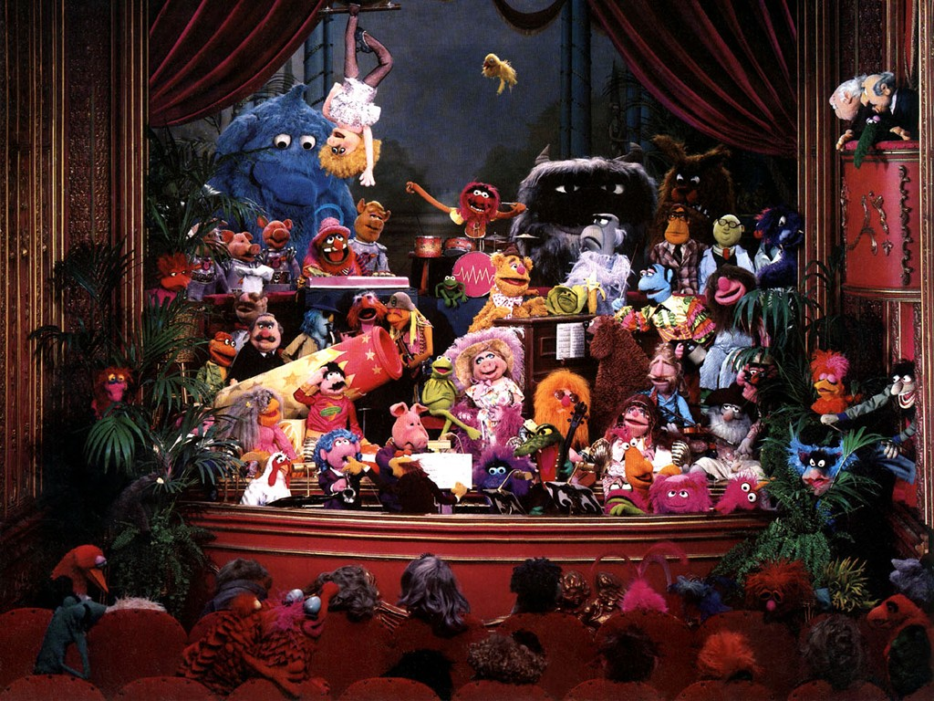 The Muppet Show Cartoon-Television