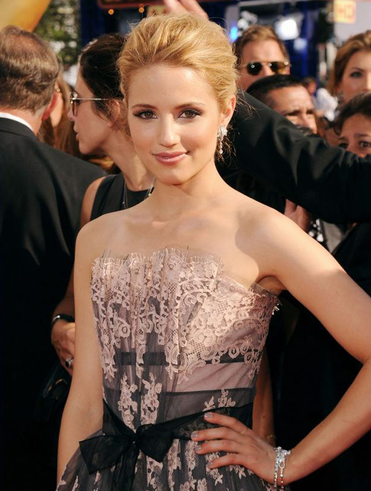 Fresh Look Celebrity Dianna Agron Hairstyles 34
