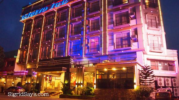 Metro Inn At Night Along 6th Lacson St Bacolod
