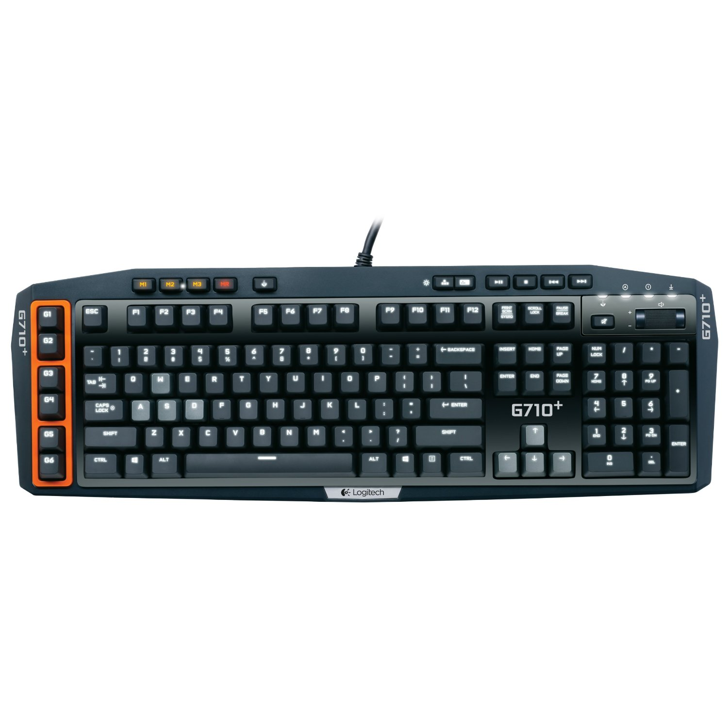 features logitech g710 gaming keyboard