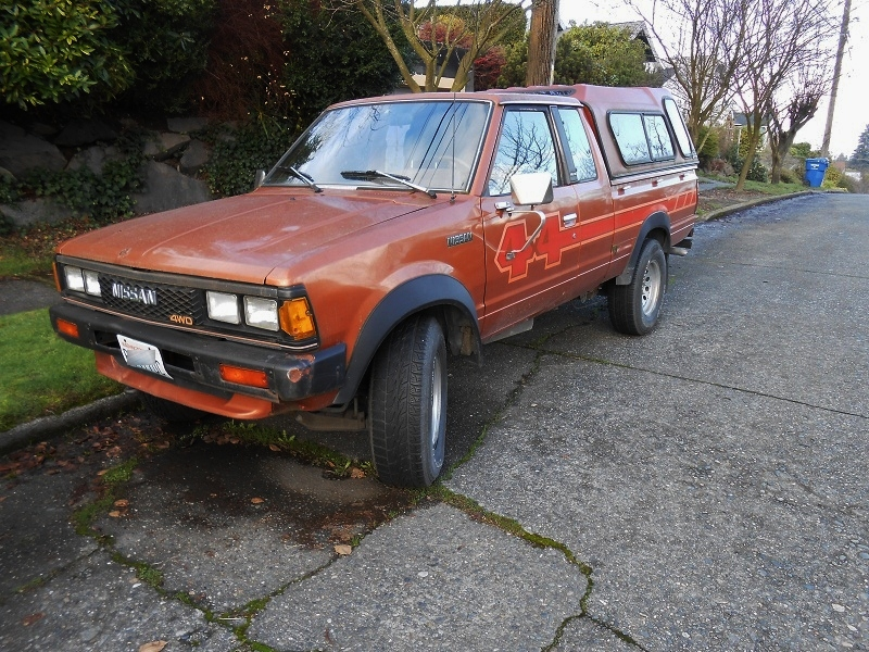 1984 Nissan Pickup 4X4 photos