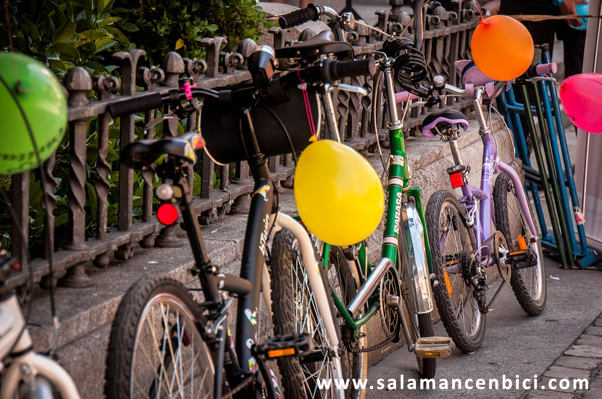 carril bici salamanca, movilidad sostenible