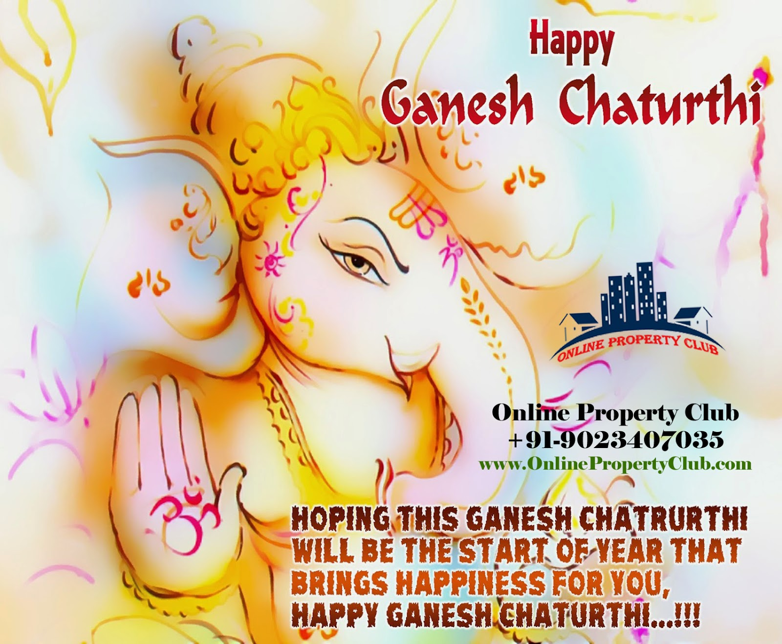 Happy Ganesh Chaturthi 2014