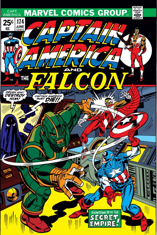 Captain America (1968) Issue #174 #88 - English 1