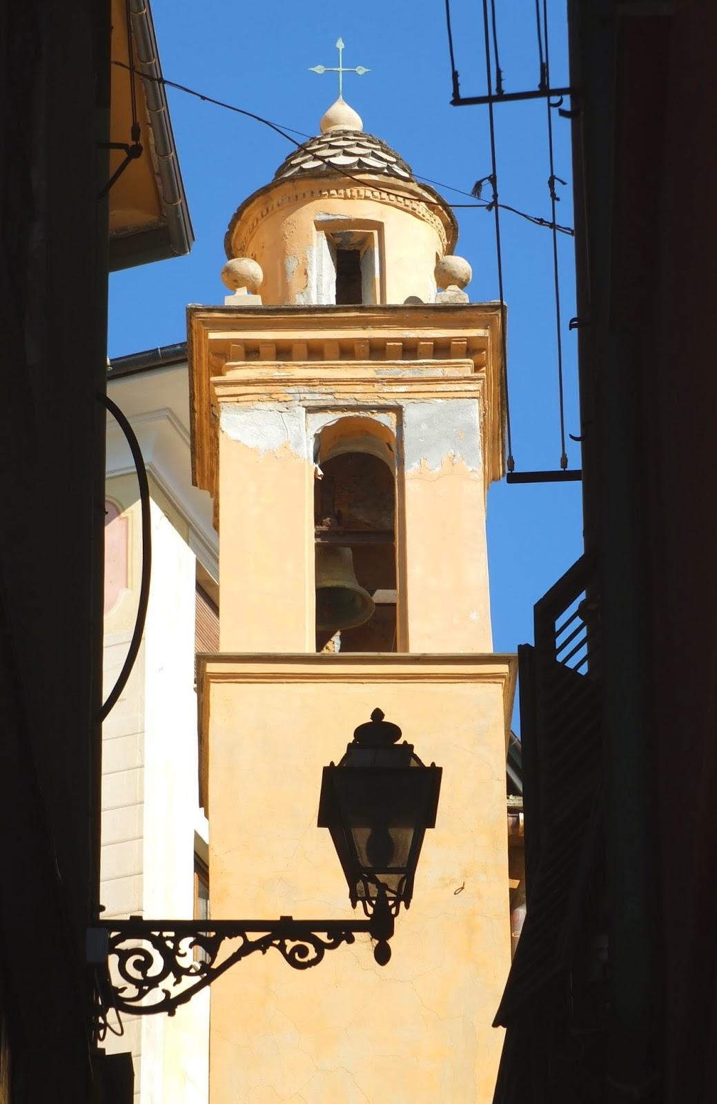 Camogli, Liguria, Italy. Oratorio of San Prospero.