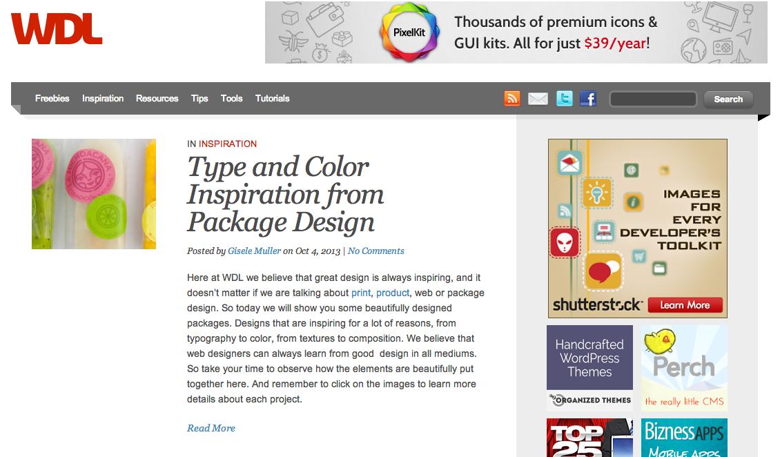 top 5 websites for web design inspiration m2 software