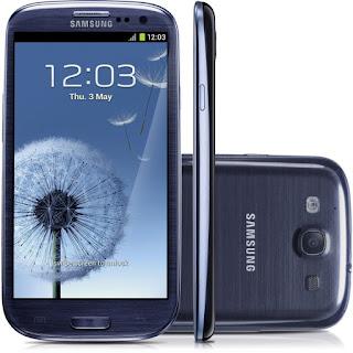 Ganha um Samsung Galaxy S3 Azul 16GB