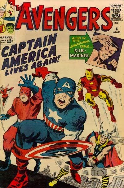 Avengers #4, Captain America