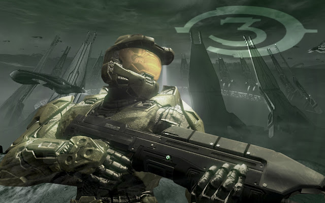 halo 3 microsoft bungie xbox first person shooter