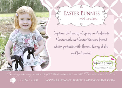 winston salem live bunnies easter portrait sessions for children child baby photographers