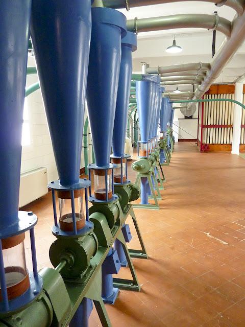 Multitubulares para la clasificación del grano en Harino Panadera