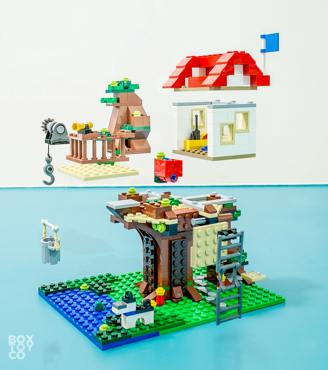 Fun With Lego Tree House 31010 Boxtoy