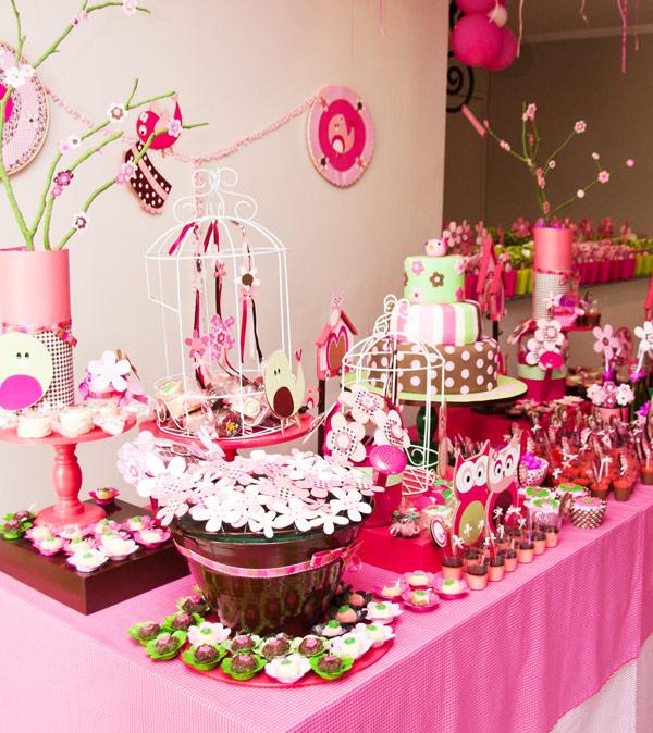 kit festa jardim atlantico:Sonho de luxo: Passarinho – Valentina – Tons de rosa