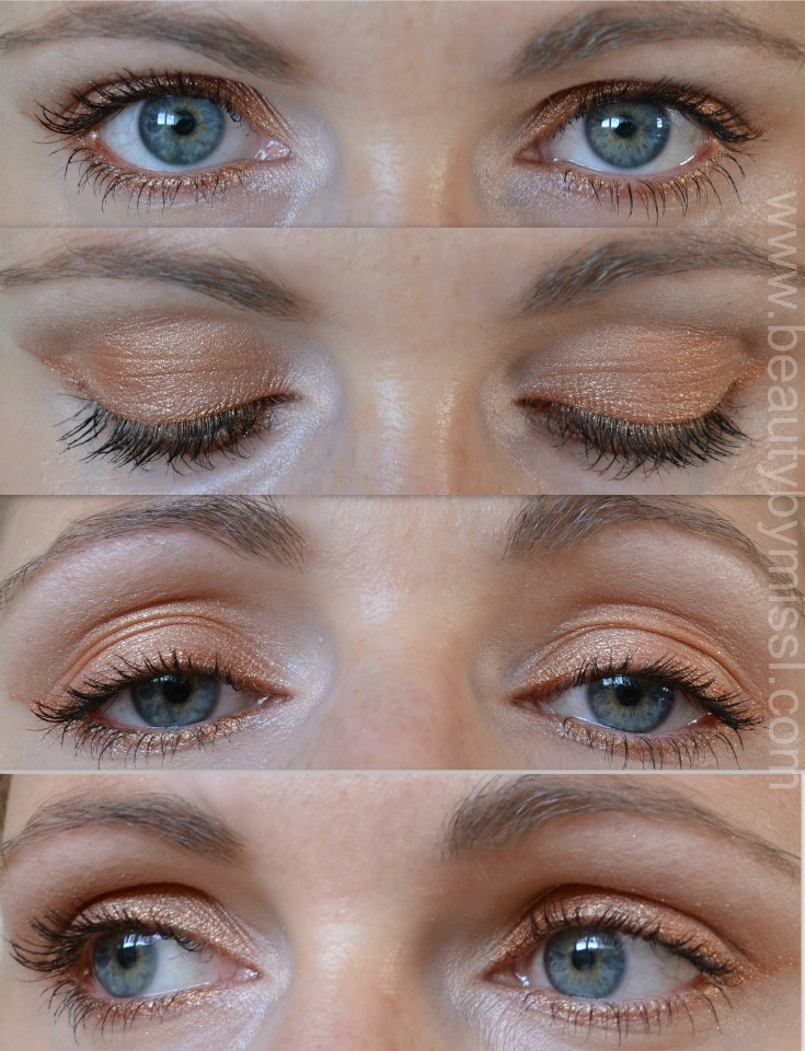 eyemakeup with one eyeshadow