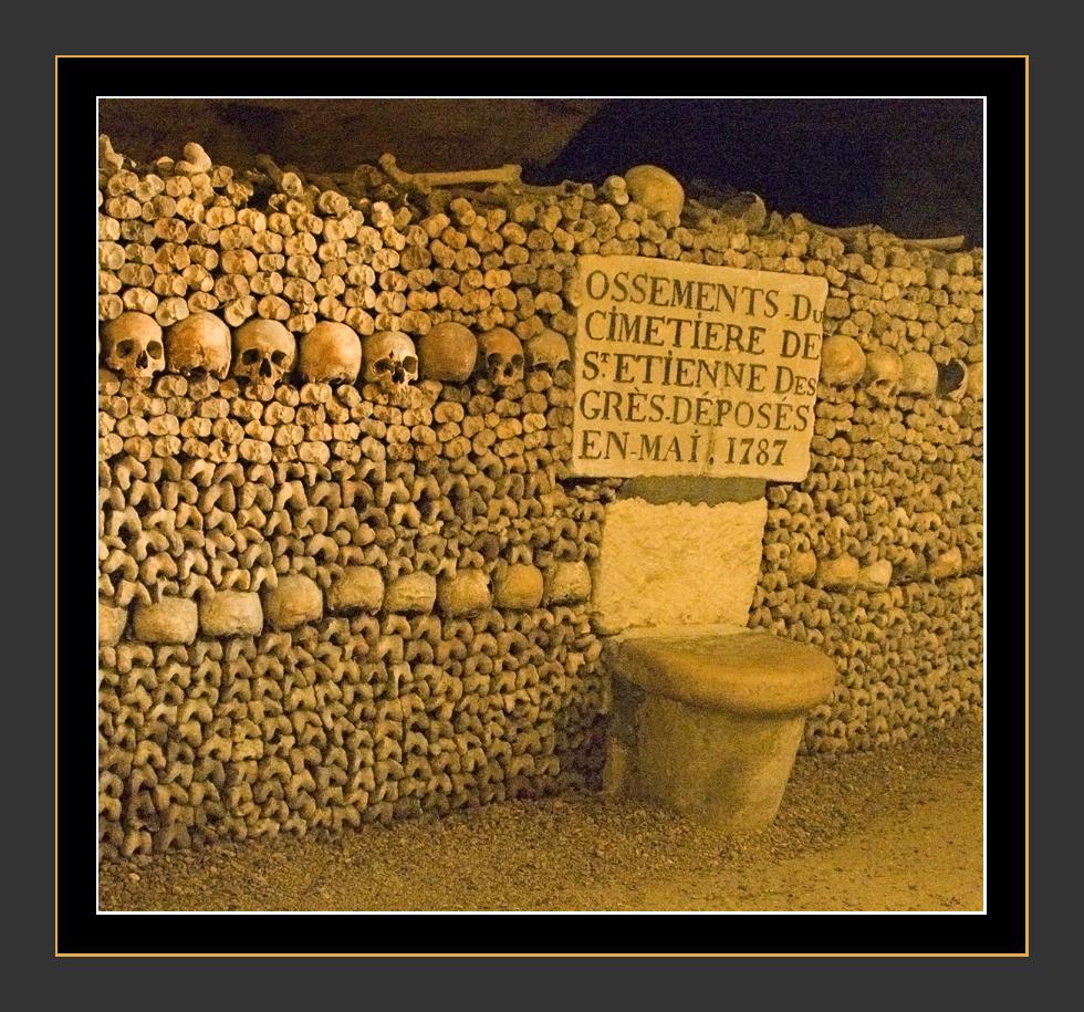 Paris Catacombs Free Download Wallpaper