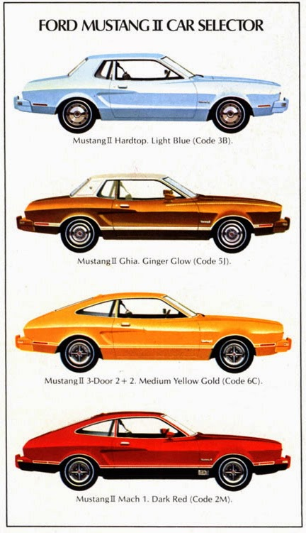 Car Style Critic: What Were They Thinking?: Ford Mustang II