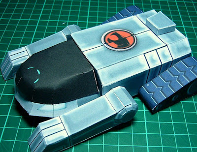 Thundercats Thunder Tank on Depapercraftblog  Thundercats  Thunder Tank Papercraft