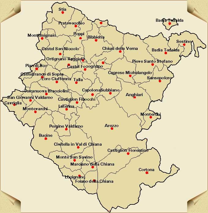 Cartina Italia Politica Geografica Provincia Mappa Immagini Di
